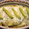 Green Swiss Enchiladas with Chicken